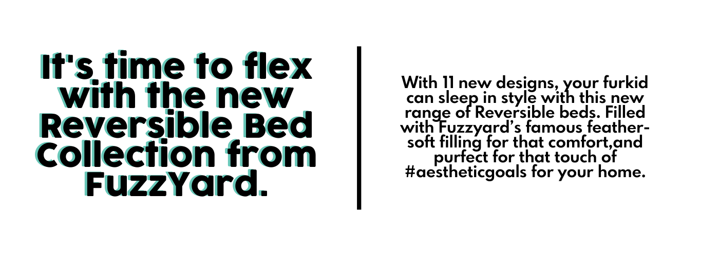 It's time to flex with the new Reversible Bed Collection From FuzzYard