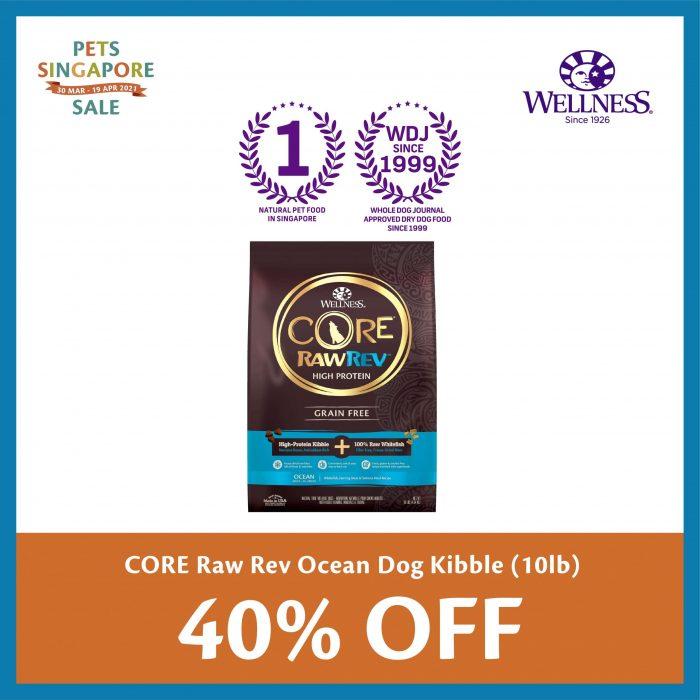 PSS_Wellness CORE Dog Raw Rev Ocean 10lb